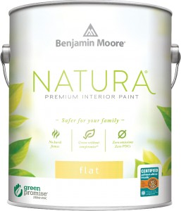 Natura Interior Acrylic Latex Flat Finish 512 - 1L
