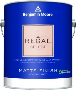 Regal® Select Premium Interior Paint & Primer Matte Finish 548 - 3,78L