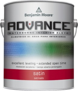 Advance Waterborne Interior Alkyd Satin 792 - 3,78L
